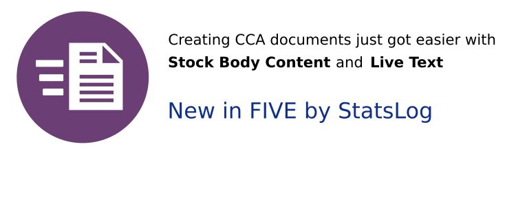 Jump-Start Your Forms with Stock Body Content and Live Text!