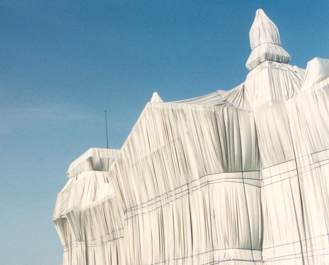 Reichstag Wrapped by Christo